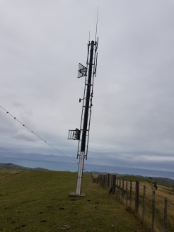 Existing antennas at Omakere